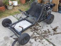 Go kart with new 6.5hp motor New max torque clutch New