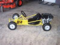 this is a vintage mculluch kart not sure what year we