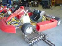 (2) Italian CRG Daytona Karts (one is shifter kart) (1)
