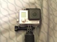 I have a go pro that I never use, I've used it a total