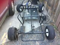 GO CART FRAME ONLY $150 OBO WILLING TO TRADE FOR