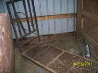 Hello, I have a metal goat milking stand, collapsable,