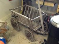 Very nice goat cart. $250 or best offer. .