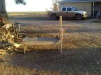 Husband makes goat milk stands. Call  Thanks  Location: