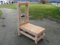 Goat Milking Stand: Model # 1306. This Goat Milking