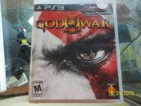 God of battle 3 for ps3 just 12.95.   We are situated