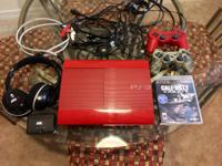 PS3 God of War edition, 500GB, slim version, comes with