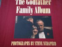 Godfather Family Album. Big book chronicling all 3