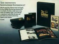 WE HAVE THE GODFATHER TRILOGY BOXED SET BRAND NEW