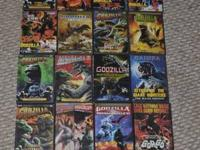 I have some Godzilla and other huge monster movies for