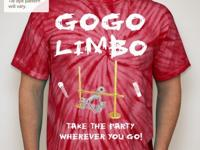 (Buy a GOGO LIMBO T-Shirt), you help me fundraise my