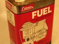 Used original COLEMAN Camping Fuel Can. Located