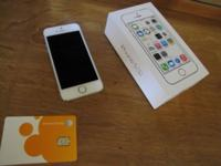 Just upgraded so selling perfect condition Gold iPhone