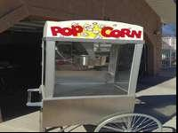 Gold Metal Product popcorn Popper. Good Condition made