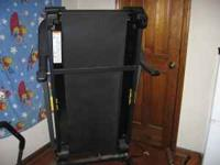 For Sale all black Gold's Gym 450 Treadmill ,got it two