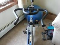 Gold's Gym indoor cycling bike. Only used a few times.