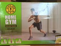 Gold's Gym Home Gym Total Body Training resistance