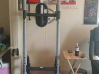 Barbell in picture not consisted of. Price reduced to