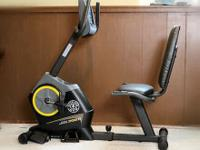 GOLD'S GYM CYCLE TRAINER 390 R EXERCISE BIKE (only used
