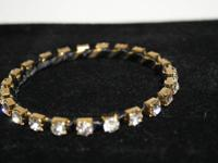 VERY NICE GOLD TONE AND SILVER TONE BRACELETS AND MORE