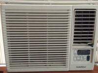 Gold star air conditioner with remote for sale.  No