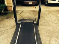 Gold's Gym VX 5000 Treadmill -.  Delicately used