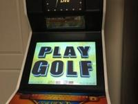 condition: good 2010 Golden Tee. Bought it brand new