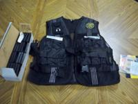 We have for sale a Golds Gym Adjustable 20 pounds vest.