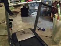 Aiming to sell our Gold's Gym 550 Treadmill. Bought in