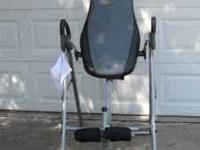 Golds Gym Inversion System. Rarely used. Great