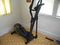 Golds Gym ollipitcal barely been used. Reason for