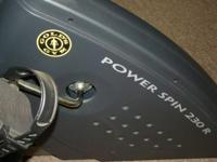 Gold's Health club Energy Spin 230R. Engineered for