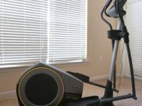Golds Gym Stride Trainer 510 Elliptical 18 inch stride