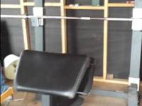 I have a golds gym weight bench with a leg curl