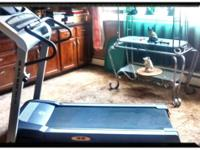 Treadmill in great condition. Can be programmed for