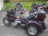 1995 Honda Goldwing trike for sale. Conversion jut