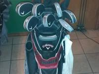 Selling my Callaway X-24 Set. Clubs have only been used
