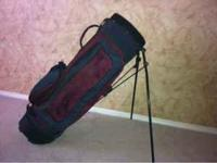 For sale, a nice Golfmate stand bag. Has tons of
