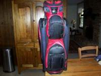 Cart bag used two seasons. $160 new. 14 way divided top