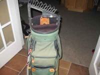 USED BAG - GREEN - STILL IN GOOD CONDITION, INCLUDES