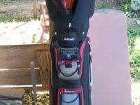 Golf Mate Golf Bag ( Black & Red) Contains: 1 Full Set