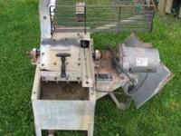 WITEK MODEL W-75 GOLF BALL WASHER RUNS ON 110 VOLT.