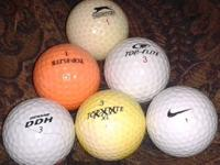 5 Gallon Bucket full of golf balls. Name brand/like