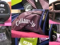 UP FOR GRABS IS A BRAND NEW CALLAWAY STAND BAG. WILL