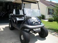 2007 Club Car Golf- 4 new tires, BRAND New Trojan