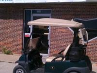 05 Club Car Precedent with NEW BATTERIES charger is