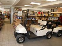 EZGO 09 Freedom 48 Volt Electric Golf Cart. Includes