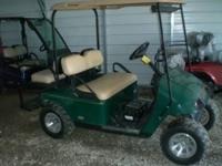 2006 E-Z-GO PDS electric powered golf cart, lights, new