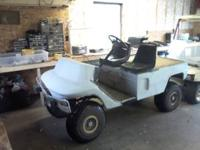 i have golf cart 4 sale with new batteries 1250.00 or