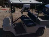 I have a club cart golf cart in great running